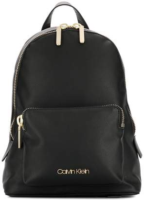 Calvin Klein logo plaque backpack