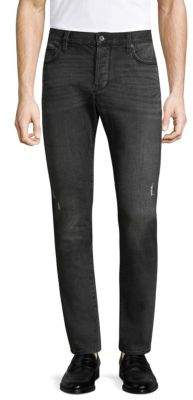 John Varvatos Wight Slim-Fit Distressed Jeans