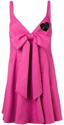 Valentino bow front mini dress