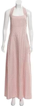 Missoni Halter Maxi Dress w/ Tags Pink Halter Maxi Dress w/ Tags