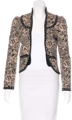 Saint Laurent Quilted Paisley Jacket