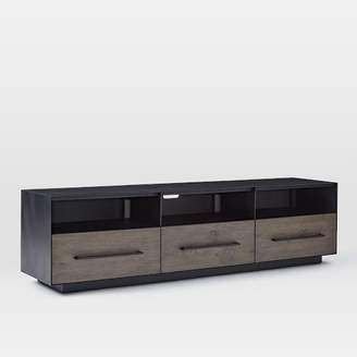 "west elm Massaro Metal-Wrapped Media Console (68"") - Hot-Rolled Steel"