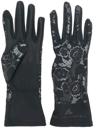 adidas by Stella McCartney floral printed gloves