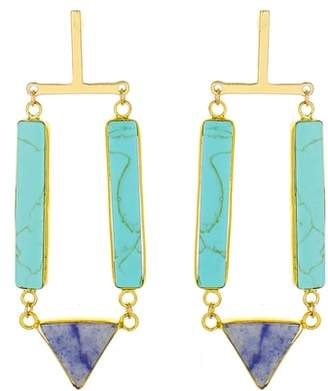Panacea Stone Drop Earrings