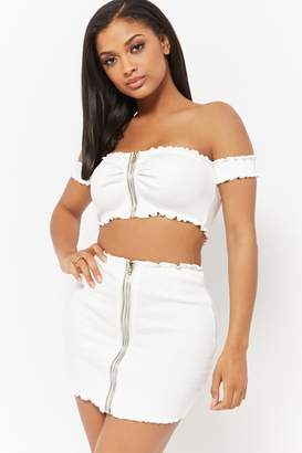 c7c0325d6c Crop Top And Skirt Set - ShopStyle Canada