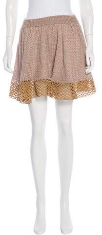 Opening Ceremony Opening Ceremony Knit Mini Skirt