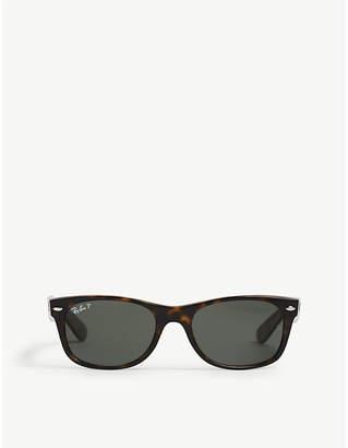 ed9cdb45615 Ray-Ban Ladies Havana Brown Classic Rb2132 New Wayfarer Polarised Sunglasses