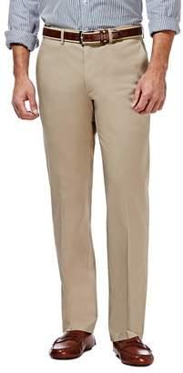 "Haggar Premium No Iron Straight Fit Pants - 29-34\"" Inseam"