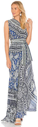 Camilla Sarong Multiwear Dress in Blue. $650 thestylecure.com