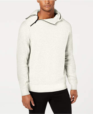 Sean John Men Pebble Knit Hooded Sweater