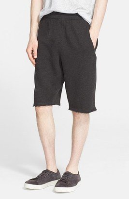 Men's Atm Anthony Thomas Melillo Cutoff Sweat Shorts $145 thestylecure.com