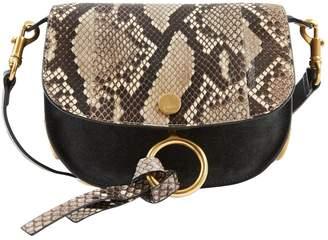 Chloé Kurtis Grey Leather Handbag