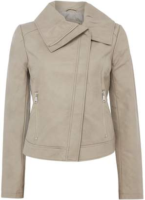 Bernardo Winged Collar Jacket