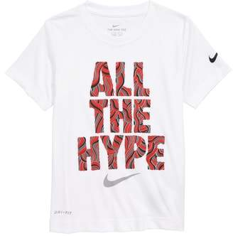 Nike Doodle Fill Hype Graphic T-Shirt