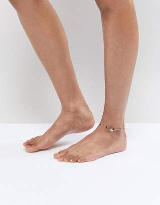 Aldo Gold Charm Multi Layer Anklet