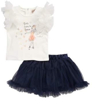 Nanette Lepore Ballerina Top & Skirt Set