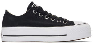 Converse Black Chuck Taylor All-Star Lift Sneakers