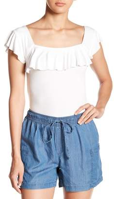 Free People Last Call Square Neck Top