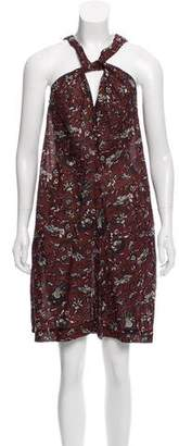 Isabel Marant Printed Mini Dress