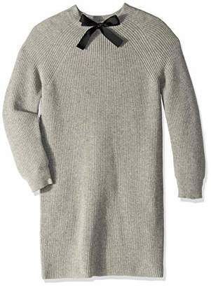 J.Crew Mercantile Women's Plus Size Long Sleeve Sweater Dress with Bow Neck Detail
