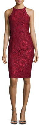 Black Halo Sleeveless Lace Cocktail Dress, Smolder $375 thestylecure.com