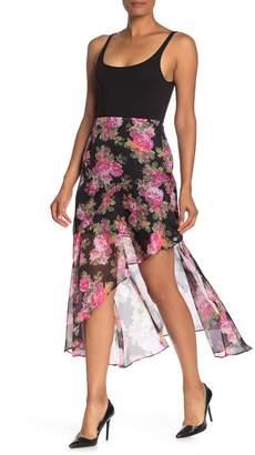 Keepsake the Label Oblivion Floral High/Low Skirt