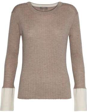 Ribbed Cashmere And Silk-Blend Sweater