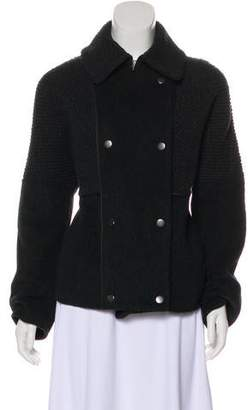 Vince Wool Double-Breasted Jacket