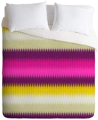 Deny Designs Holli Zollinger Fusion Bright Stripe King Duvet Set Bedding