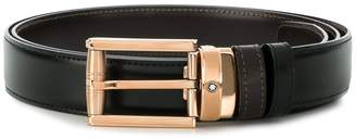 Montblanc square buckle belt