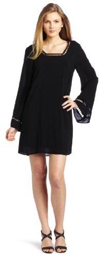 Ella Moss Women's Bell Sleeve Mini Dress