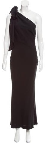Christian Dior One-Shoulder Evening Dress w/ Tags
