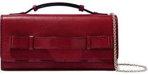 Red(V) Red(v) Textured-leather Shoulder Bag