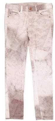 Isabel Marant Low-Rise Straight-Leg Jeansl