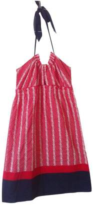 Tocca Red Cotton Dress for Women
