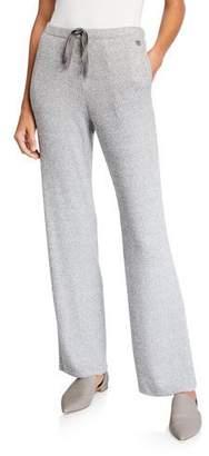 Natori Ulla Speckled Drawstring Pull-On Pants