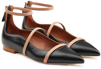 Malone Souliers Robyn Leather Ballerinas