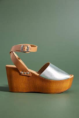 Seychelles Wooden Platform Sandals