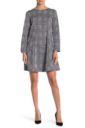 Jones New York Glenplaid Shift Dress