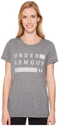 Under Armour Threadborne Graphic Twist Short Sleeve Shirt Women's T Shirt