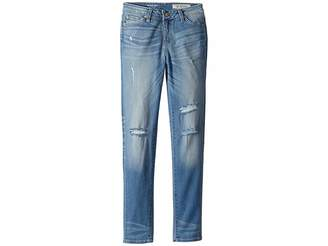 AG Adriano Goldschmied Kids Super Skinny Jeans in Lightening Blue (Big Kids)
