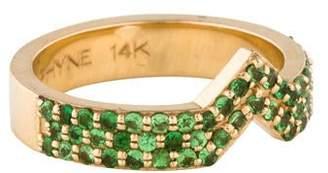 Paige Novick Phyne by 14K Celia Tsavorite Stacking Ring