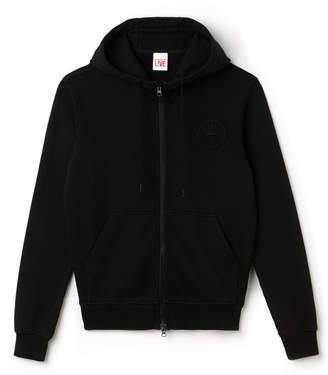 Lacoste (ラコステ) - フード ジップ バッジデザイン スウェットシャツ