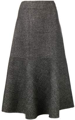 Odeeh high waist flared skirt