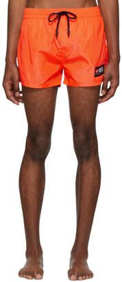 Diesel Orange BMBX-Sandy Swim Shorts