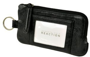 Kenneth Cole Reaction Must Haves Leather Snap Tab Card Case