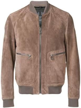 Belstaff suede bomber jacket