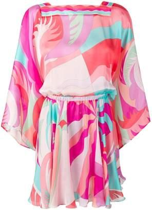 Emilio Pucci draped beach dress