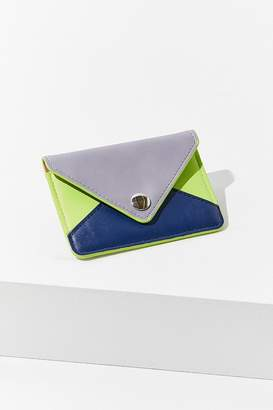 Urban Outfitters Colorblock Envelope Card Case