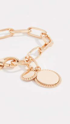 Rebecca Minkoff Medallion Link Bracelet